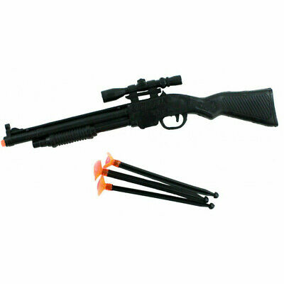 kids toy rifle gun with orange shooters for shooting stocking filler party