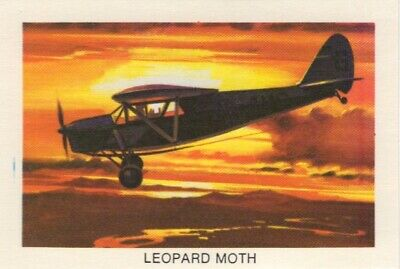 Tip Top Bread - Great Sunblest Air Race Cards.Leopard Moth (different)