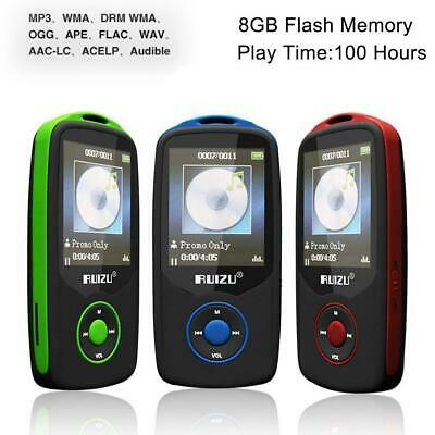 64G Support RUIZU X06 Bluetooth Sport MP3 Player TF Card Music Media 1.8 TFT TT