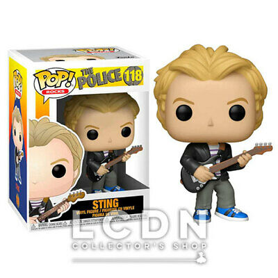 The Police POP! Rocks Sting Vinyl Figure 10cm n°118 FUNKO