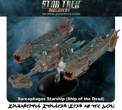 Star Trek Discovery Collection Klingon Sarcophagus Starship (Ship of the Dead)