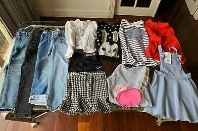Girls Clothing Bundle - Size 7. Seed, Bardot Jnr, Witchery, H&M, Nike