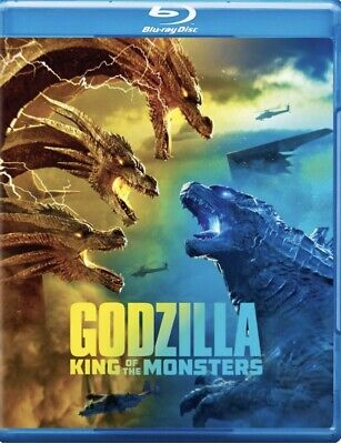 Godzilla King Of Monsters Blu-ray Disc W/slim Case 8/27/19, Free Ship/track