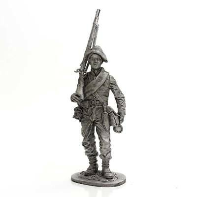 "Tin toy metal soldier ""Soldier of Confederate States Army"" 1/32 (54mm) #WW75"