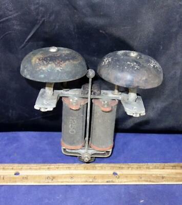 VINTAGE TELEPHONE BOX RINGER Bells WORK 1250 Western Electric Brass