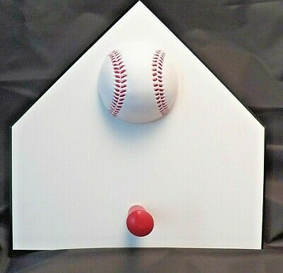Baseball  Hat/Coat  Hook Wall Decor Can Be Personalized