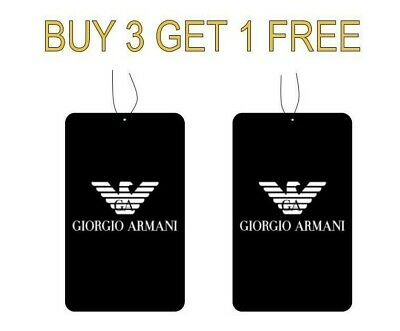 Armani Diamond/si Perfume Car Air freshener 100% High Quality (Buy 3 Get 1 Free)