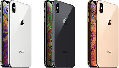 Apple iPhone XS Factory Unlocked 64GB 256GB GSM SmartPhone AT&T T-mobile Verizon