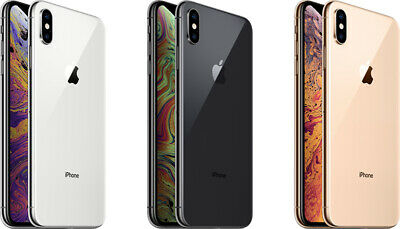 Apple iPhone XS Software Unlocked 64GB 256GB GSM SmartPhone AT&T T-mobile