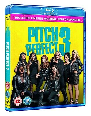 NEW and SEALED Pitch Perfect 3 (Blu-Ray) [2018] [Region Free]