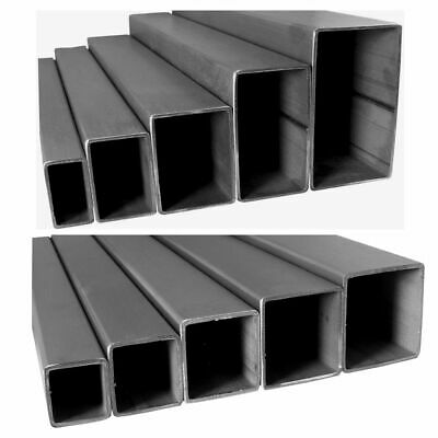 Stainless Steel Square Rectangle Box Pipe V2A Profile Stange 2,0 -2, 6 M in Cut