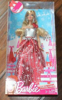 Barbie Holiday Wishes Doll 2013