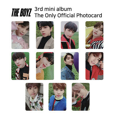 THE BOYZ - 3rd mini album The Only Official Photocard - In the Air Version