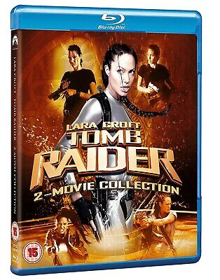 NEW and SEALED Lara Croft - Tomb Raider: 2-Movie Collection [Blu-ray]