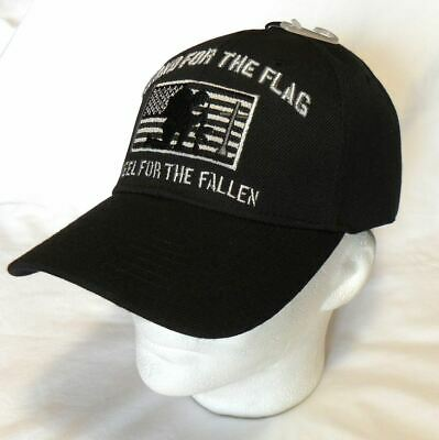 Stand For The Flag Kneel for the Fallen American Flag Tactical Baseball Hat Cap