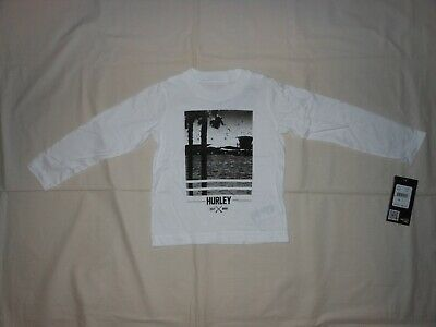NWT Hurley Baby Boys white shirt, size 2T