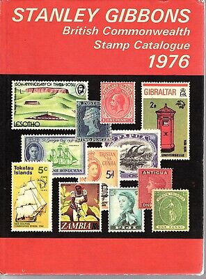 Stanley Gibbons - British Commonwealth Stamp Catalogue 1976