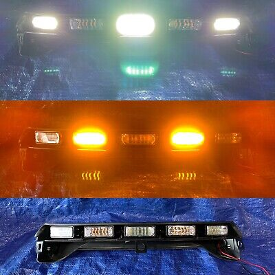 Whelen Windshield Light Array Harley Davidson Linz6 Super Led Lightbar 🌕Amber⚪