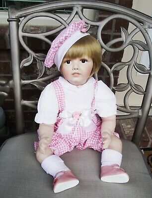ANTIQUE REPRODUCTION GERMAN HILDA MOLD 237 JDK 21 in COLLEEN APPLEWHITE DOLL NEW