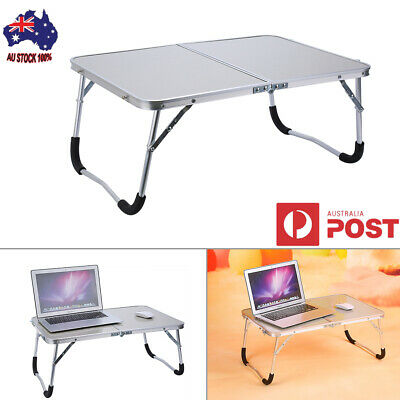 New Fashion Laptop PC Desk Bed Tray Stand Picnic Camping Table Portable Foldable
