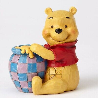 Disney Traditions Mini Winnie The Pooh With Honey Pot by Jim Shore 4054289