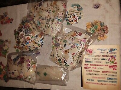 Used U.S. Stamp Mixed Lot of 250, Scott #'s 301 - 3000 Random Mix OFF PAPER