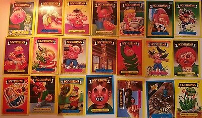 Lotto Set 21 Figurine Cards Sgorbions Topps Garbage Gang 1986 Tutte Diverse
