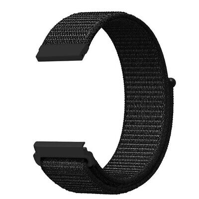 20mm / 22mm Nylon Quick Release Watch Band Smartwatch Replacement Sport Strap