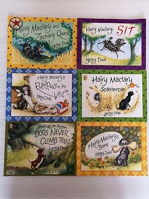 Children's picture books Set of 6 Hairy maclary & friends by lynley dod VGC
