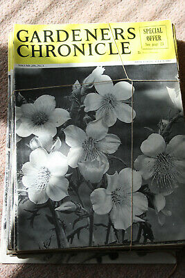 Gardeners Chronicle Magazines x 26