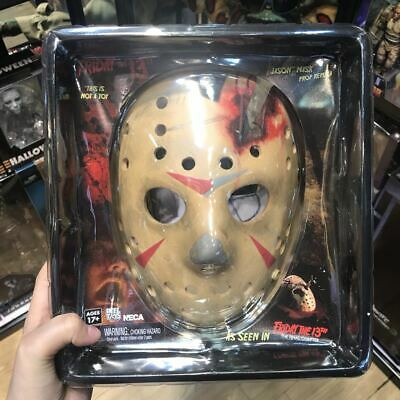 NECA Friday the 13th Prop Replica Jason Mask Part 4 Final Chapter New IB