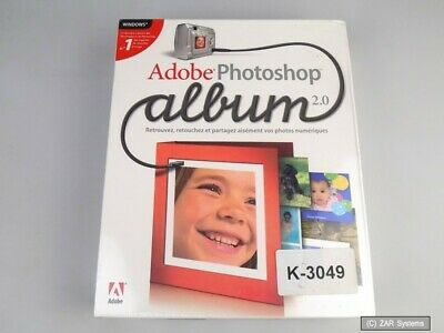 Adobe Photoshop Album 2.0 Französisch, Vollversion, Windows, France ~LESEN~
