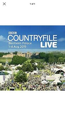 Countryfile Live Tickets Family Ticket For Thursday