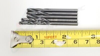 "5 1/8"" .1285 2-1/2"" Stubby Aircraft Aviation Regrind Drill Bits TR8731"