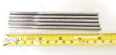 "5 .2130 5"" Straight Flute Aircraft Regrind Reamer Tapper Flat Bottom Drill Bits"