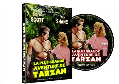 LA PLUS GRANDE AVENTURE DE TARZAN (Gordon Scott) DVD VF