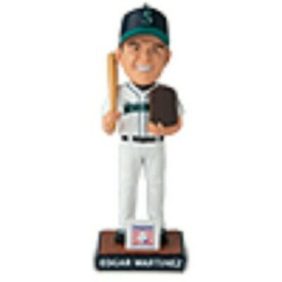 EDGAR MARTINEZ 2019 HALL OF FAME HoF BOBBLEHEAD SEATTLE MARINERS SGA 8/9/19 **