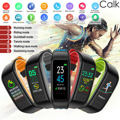 Fitness Smart Watch Band Sport Activity Tracker For Kids Fit bit Android iOS MM