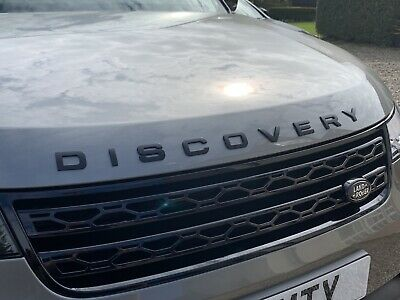 Land Rover discovery 5 discovery sport Gloss Black Letters for Front and Rear