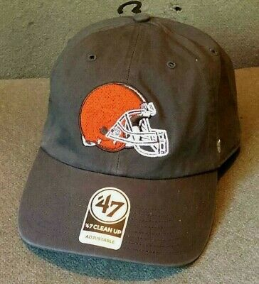 5162019c8ca2f CLEVELAND BROWNS 47 Brand Clean Up Hat Adjustable Cap Dawg Pound ...