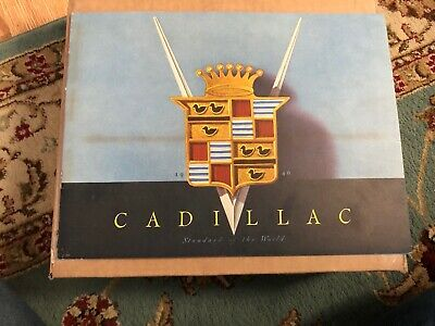 Authentic 1946 Cadillac Original Sales Brochure Series 61, 62, 75 and 60 Special