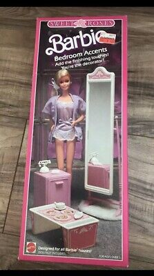 "1987 Barbie ""Sweet Roses"" Bedroom Ascents..SUPER RARE NIB! Read Description"