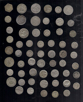 SILVER .500 / .925 SHILLING SIXPENCE THREEPENCE 3d 6d 12d BRITISH / WORLD COIN