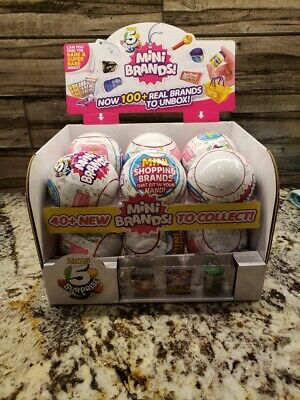 5 Surprise Mini Brands Surprise Ball By ZURU On Hand Ships FREE & Fast! VHTF!