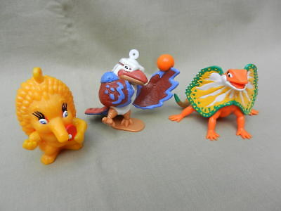 Sydney 2000 Olympic Games Mascot Figures - Olly, Millie & Lizzie