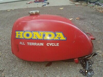 NEW HONDA ATC 90 74-78 RED GAS FUEL TANK ATC 110 79-82