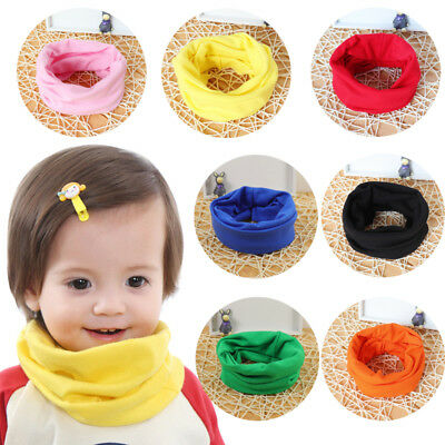 Autumn Winter Warm Boys Girls Collar Baby Scarf Children O Ring Neck Scarves Hot