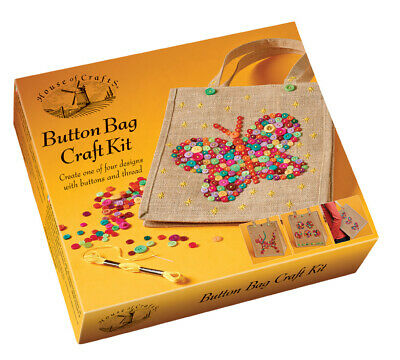 House of Crafts Button Bag Kit