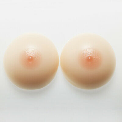 EE Cup Round Silicone Artificial False Breasts Cosplay Transgenders Enhancer