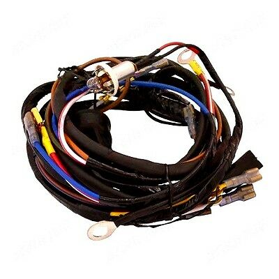 Dynamo To Alternator Wiring Harness Fits Massey Ferguson 135 Tractors.